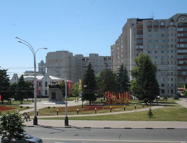Бывшая Никольская площадь. Тамбов. Фото 2010 г.
