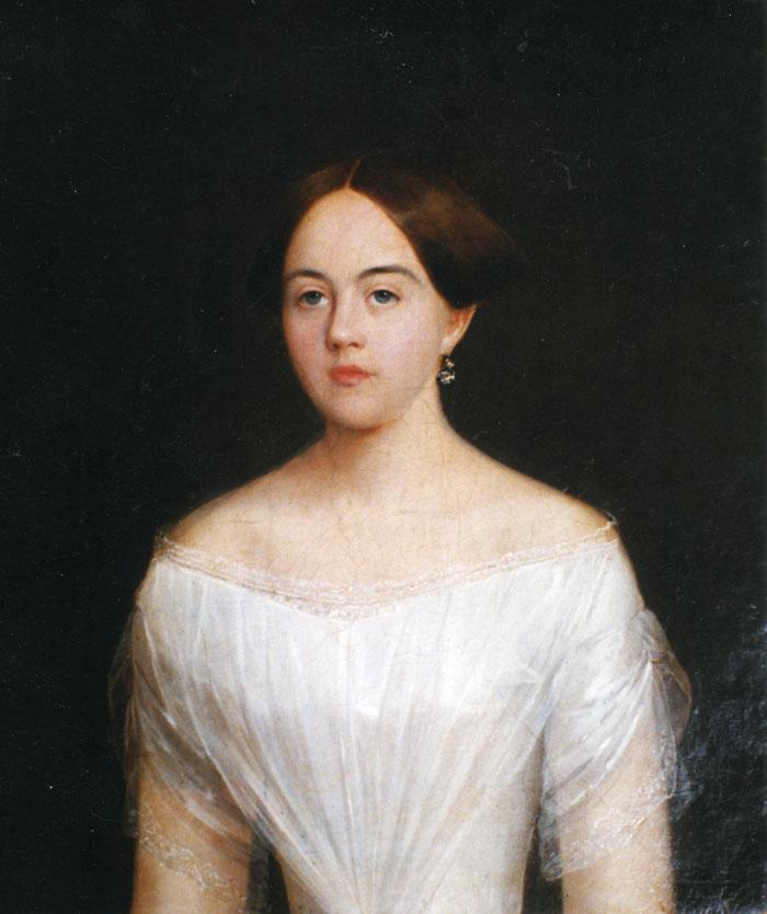 С.А. Боратынский (?). Портрет Е.А. Дельвиг. Около 1850 г.