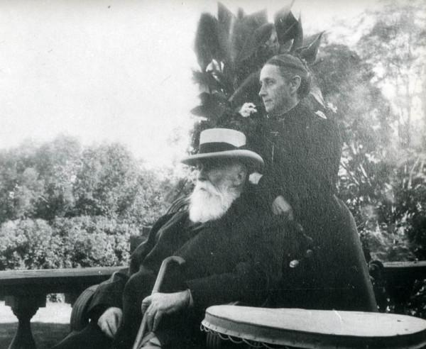 Б.Н. и А.А. Чичерины в Карауле. Фото рубежа 19-20 вв.