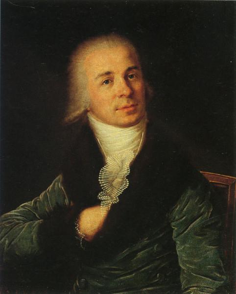 Г. Смирновкий. Портрет Г.Р. Державина. Начало 1790-х гг.