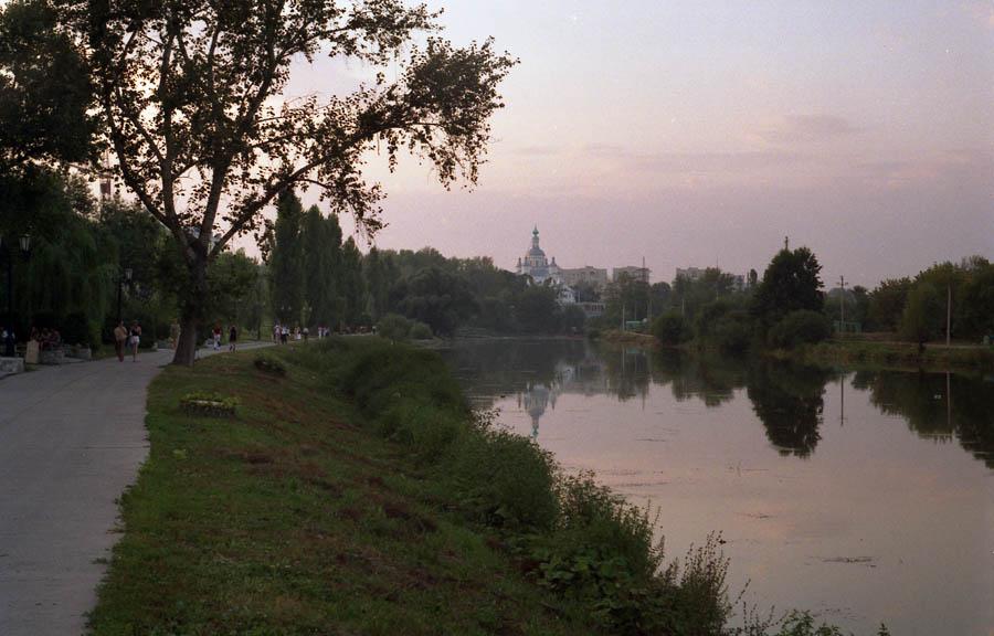 Река Цна у Тамбова. Фото 2000 г.