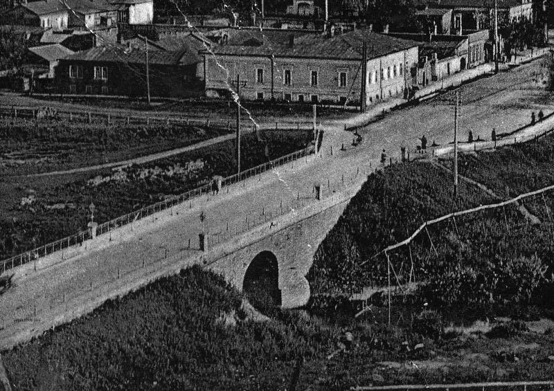 Мост через речку Студенец в Тамбове. Фото начала XX в.