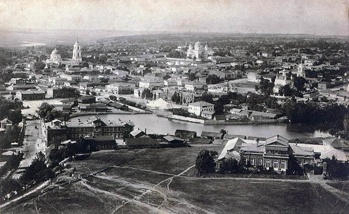 Липецк. Вид с соборной колокольни