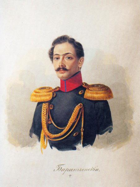 А.И. Клиндер. Портрет Ираклия Аврамовича Боратынского. 1838-1839