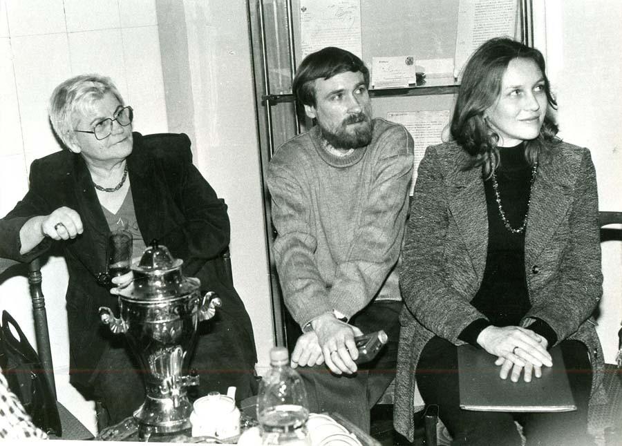 В Доме-музее Г.В. Чичерина. 26 февраля 2002 г.