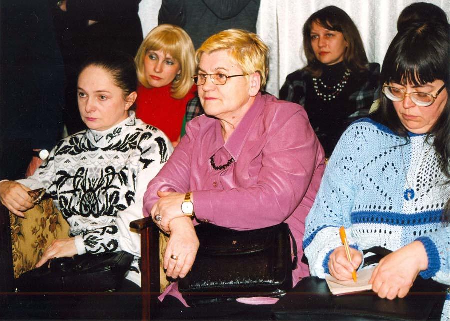 На открытии выставки В.Г. Шпильчина в частном музее Денисова. 2004 г. (?)