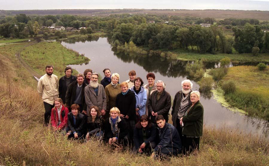 Над рекой Вяжлей. 24 сент. 2004 г.