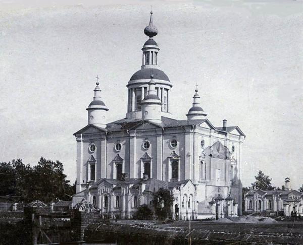 Спасо-Преображенский кафедральный собор в Тамбове. Фото около 1904 г.