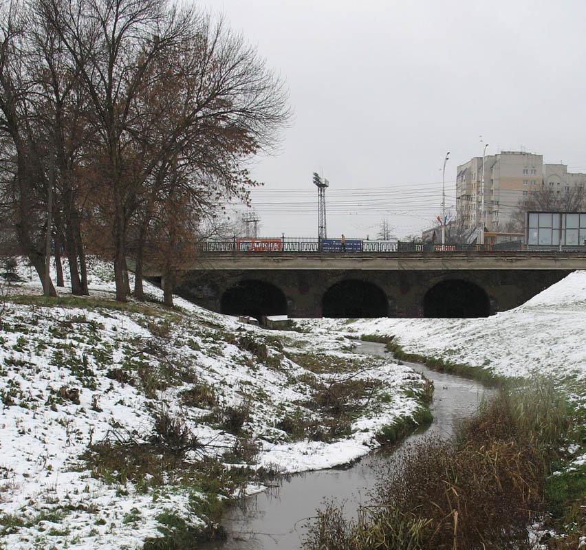 Реконструкция Державинского моста