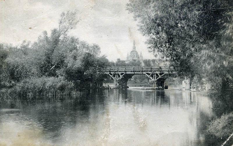 Ценский мост. Фото начала XX в.