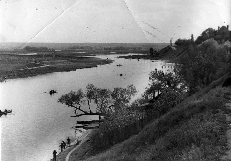Река Цна у Тамбова. Фото 1950-х гг.