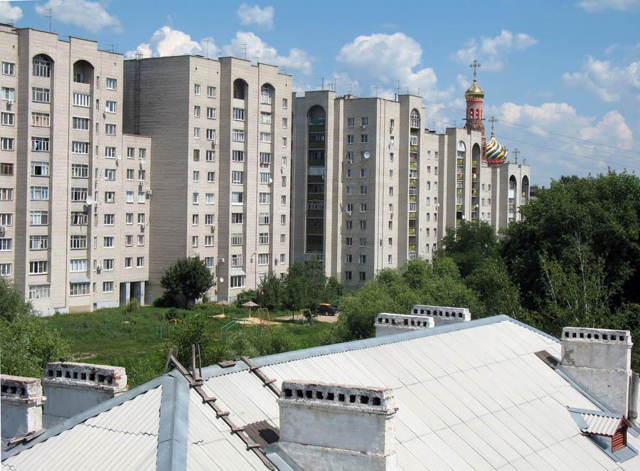Тамбов . Вид на Студенецкую улицу. Фото 4 июля 2013 г.