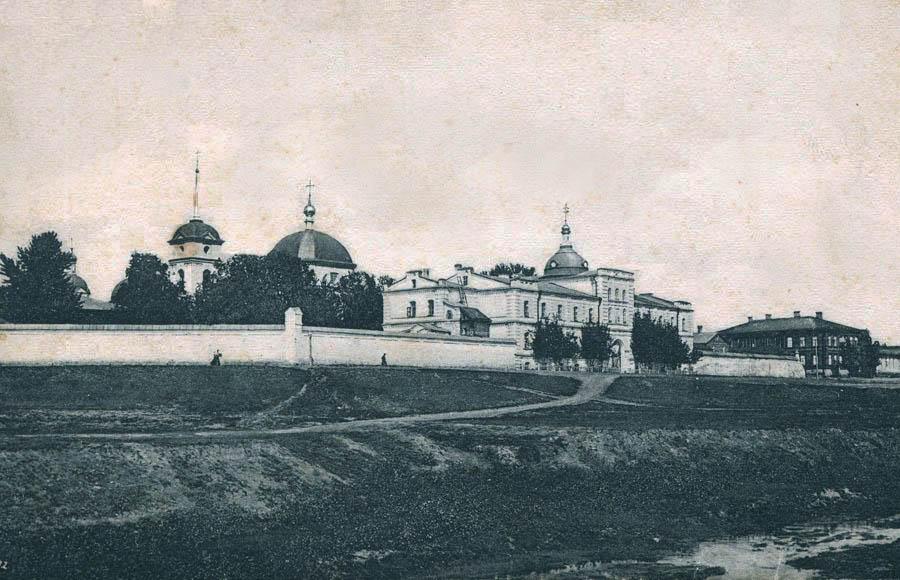Вознесенский монастырь в Тамбове. Фото начала XX в.