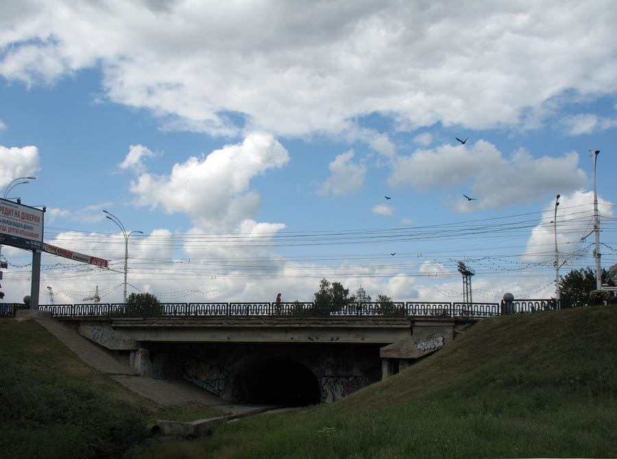 Державинский мост в Тамбове. Фото 11 июня 2013 г.