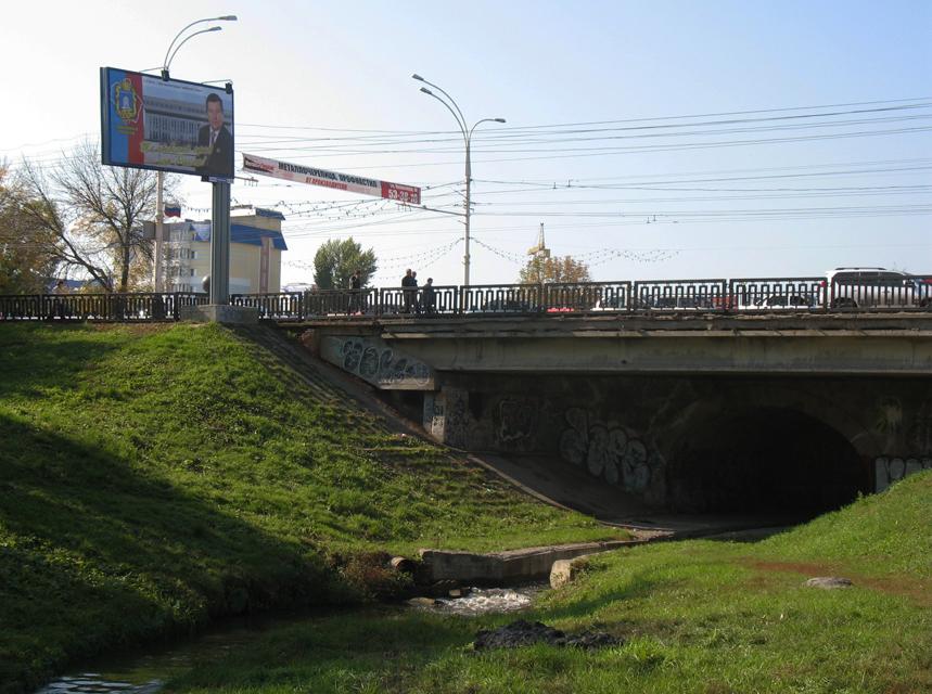 Студенецкий мост. Тамбов. Фото 28 сентября 2012 г.