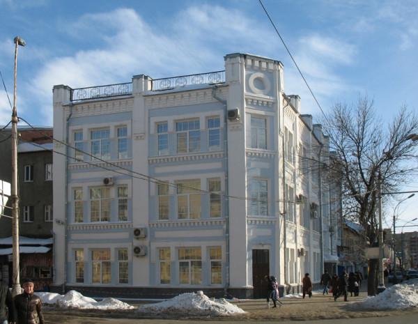 Бывший дом Никонова в Тамбове