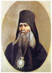 Автопортрет святителя Феофана (неоконченная работа)