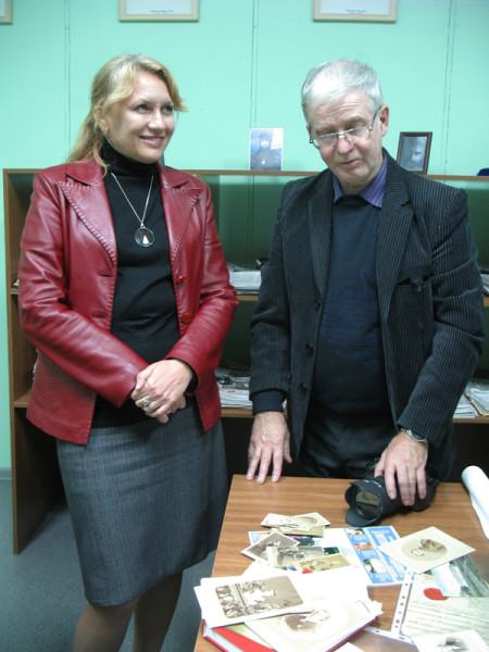 Мы с Александром Дмитриевичем Кугушевым