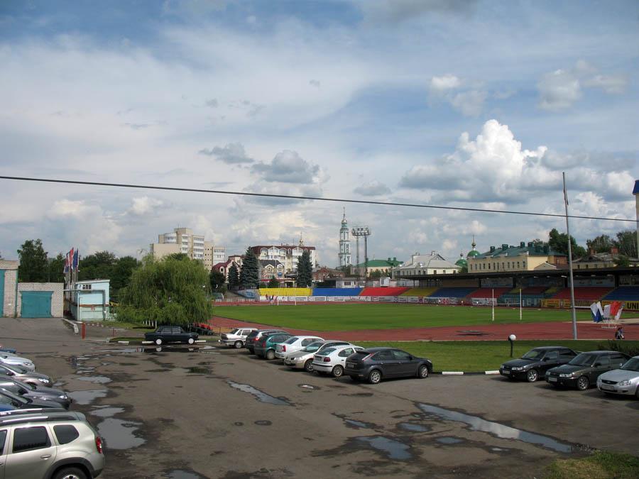 Стадион Спартак в Тамбове. Фото 2013 г.