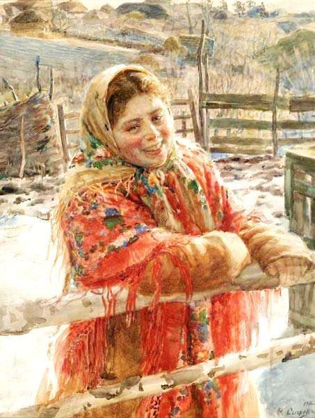 крестьянская девушка