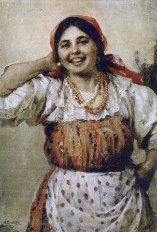 плясунья Соня. 1932