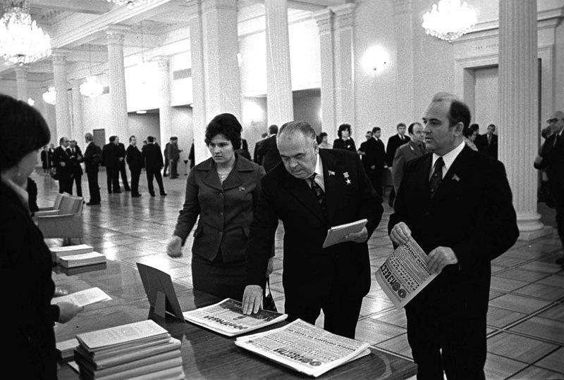 Горбачев и Медунов