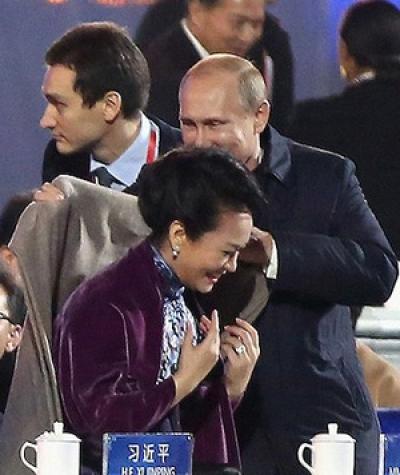 Путин и Китаянка