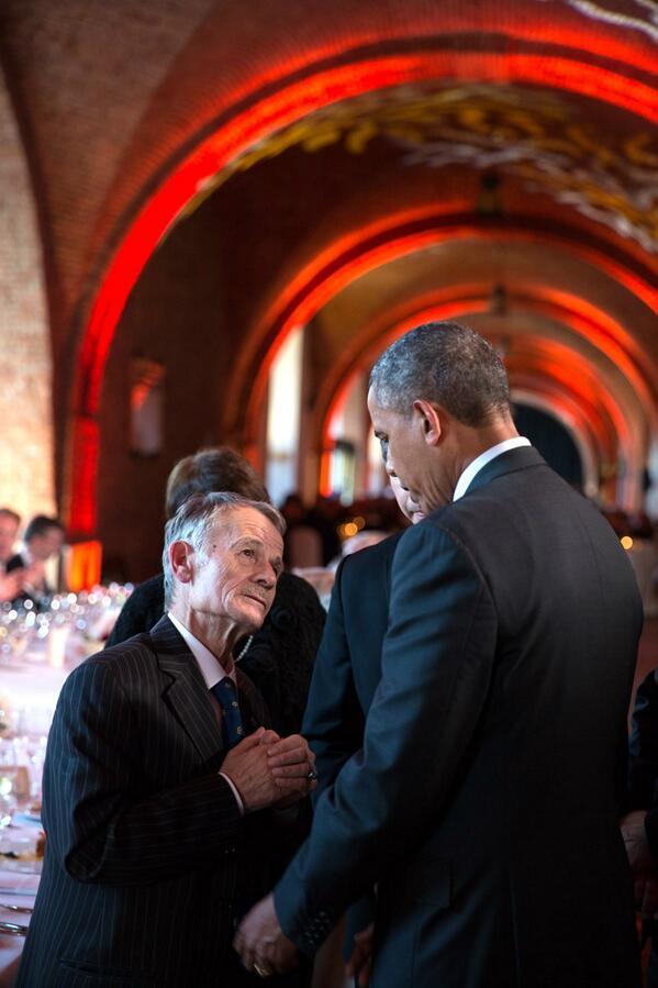 Обама и Джамлиев