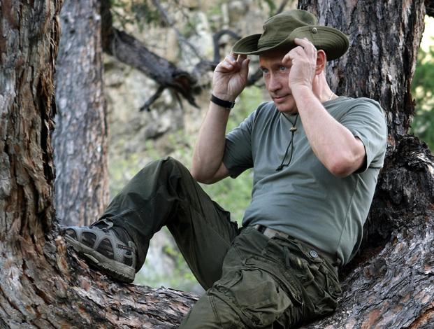 Путин в ковбойке