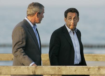 Саркози и Буш