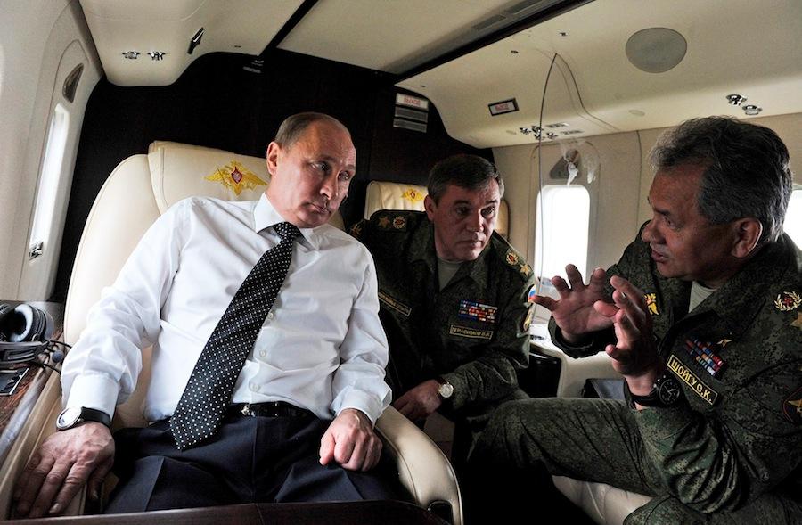Путин с Шойгу
