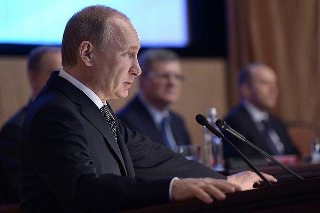 Путин на коллегии