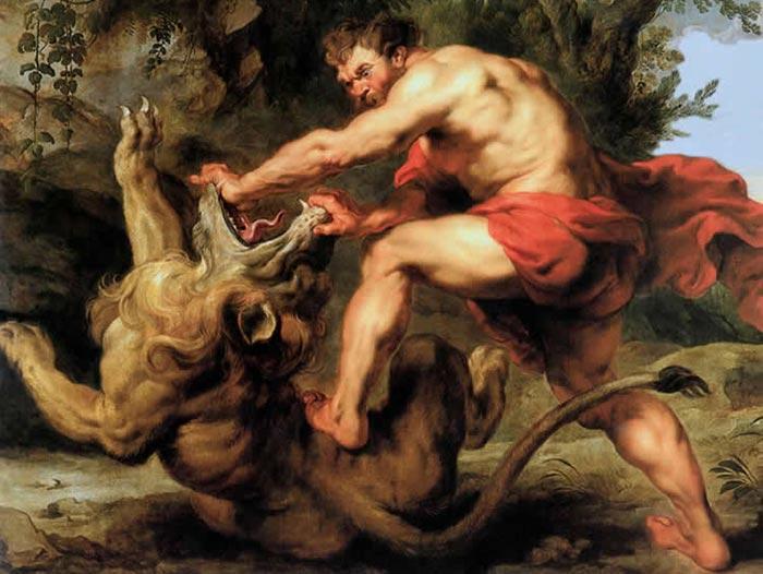 Samson-et-le-lion-rubens