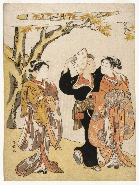 Brooklyn_Museum_-_The_Waterfall_-_Suzuki_Harunobu