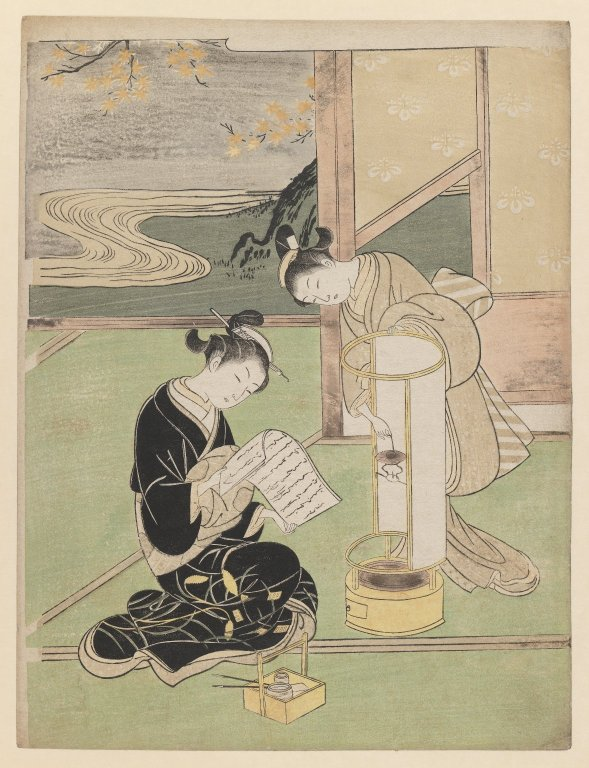 Brooklyn_Museum_-_Andon-no_Yusho_Evening_Glow_in_the_Paper-Covered_Night-Light_-_Suzuki_Harunobu