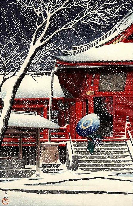 Kiyomizudo-in-Snow