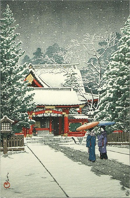 Snow-at-Hinoeda-Shrine