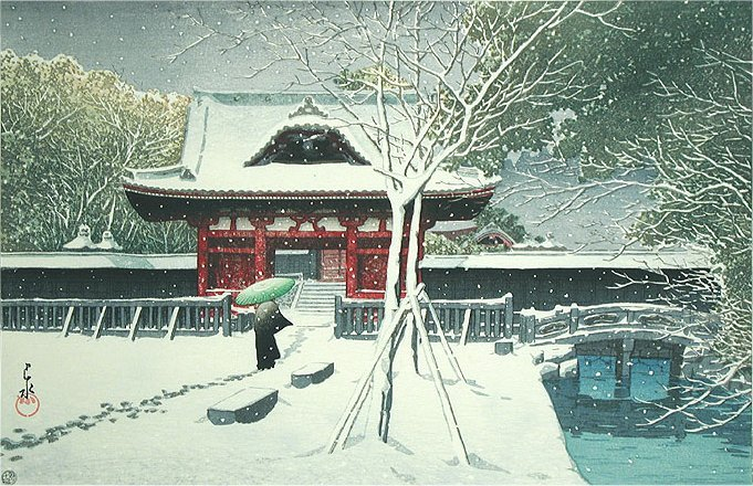 Snow-at-Shiba-Park