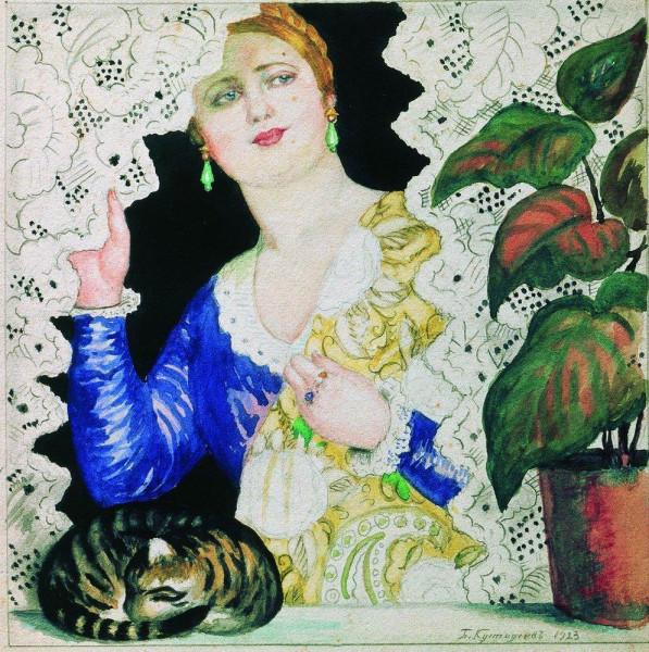 russian-girl-near-the-window-1923