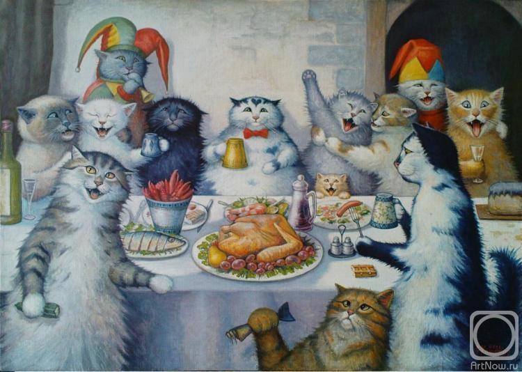 Поздравление на др от кошки