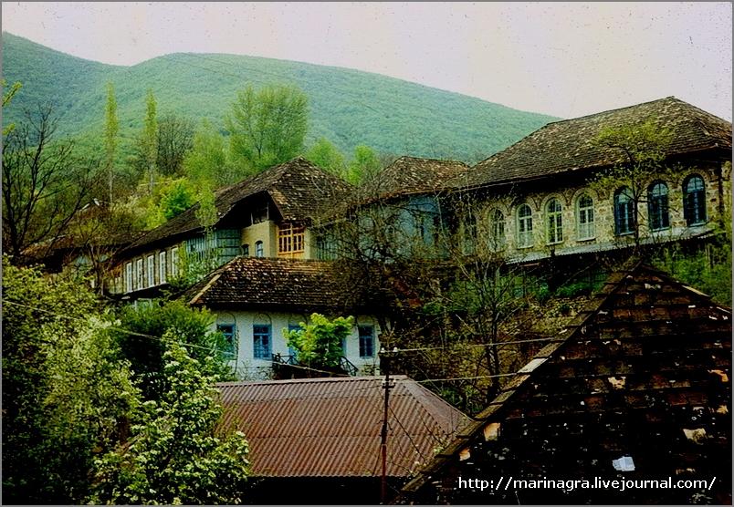 Путешествия по СССР.  Азербайджан, часть 4. Шеки - город в горах