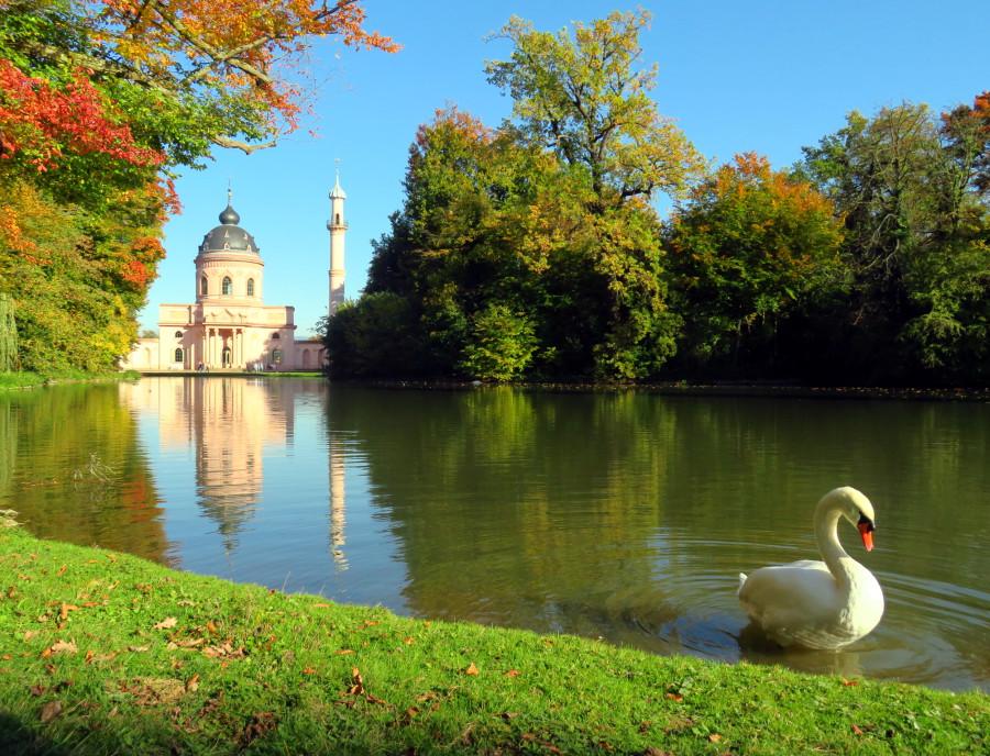Октябрь в дворцовом парке Шветцинген