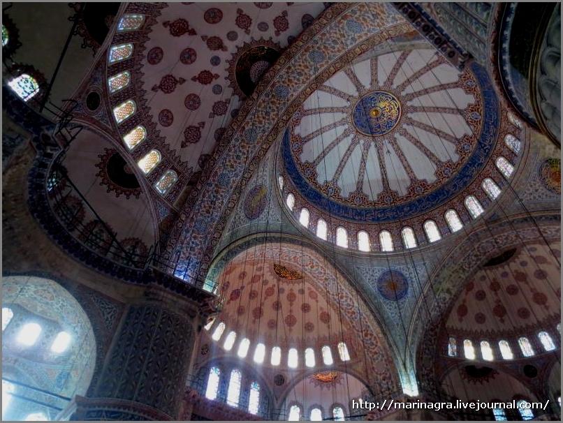 Мечеть Султанахмет  в Стамбуле. Часть 1.