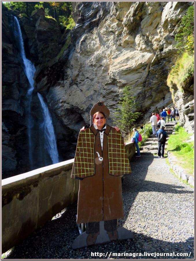 По следам Шерлока Холмса в Швейцарии Холмса, Шерлока, Майрингене, водопад, Мориарти, Музей, Холмс, водопада, Ватсон, Фрагмент, который, Конан, экспозиции, гостиной, Райхенбахский, сыщика, всего, Ватсона, великого, музея