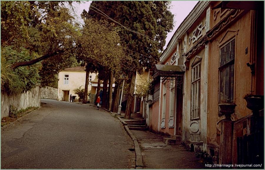 Путешествия по СССР. Абхазия. Часть 2. Кавказская Ривьера - потерянный рай. -