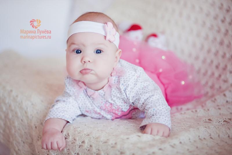 фотографии девочек 6 месяцев