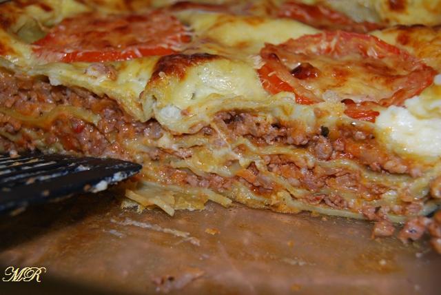 лазанья мясная рецепт с фото