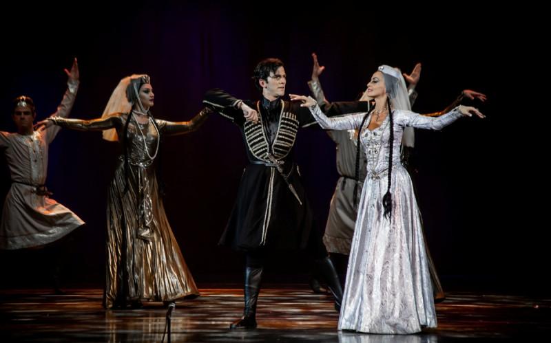 29 ноября в Екатеринбурге пройдет танцевальное шоу Королевского национального балета Грузии