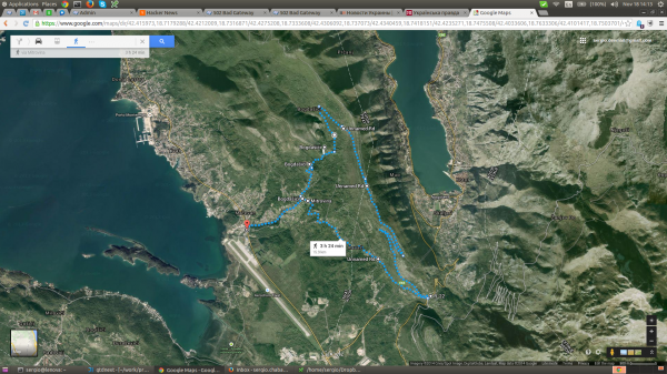 Tivat Mountain Route