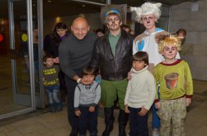 Телеведущий Алексей Куличков с детьми, Илья Викторов и семейство Овчаркиных